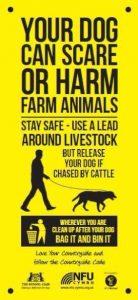 Animal worrying poster