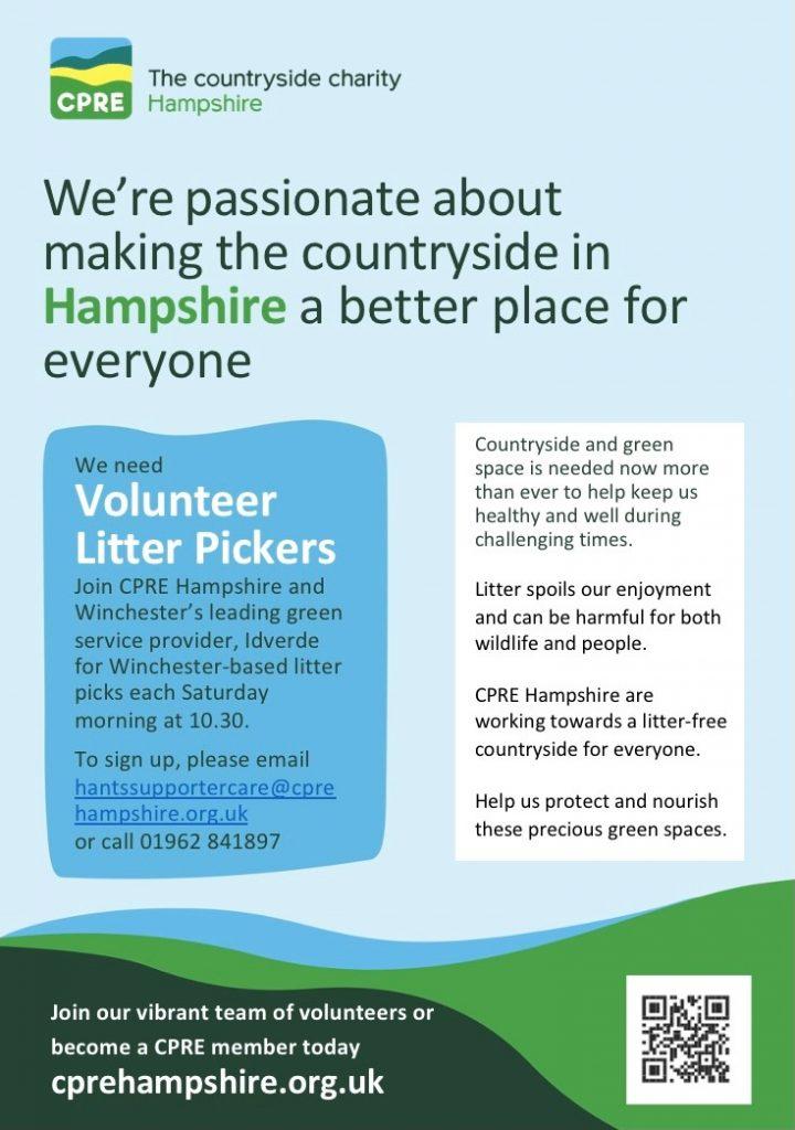 CPRE litter poster